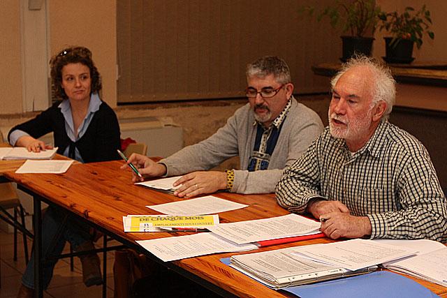 Jean-Yves Leveau, Daniel Monderer, Stéphanie Armand.|Photo © Jean‐Paul Epinette ‐ icimedia@free.fr