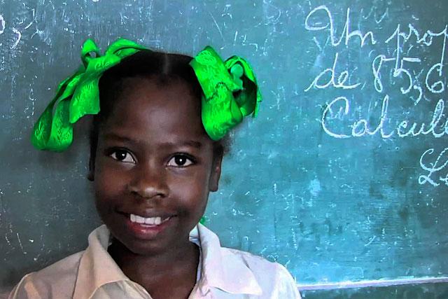 Les écoliers d'Haïti comptent sur l'association villeréalaise qui va changer de  tête...|Photo Unicef