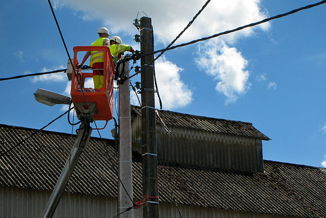 Des travaux sur le réseau vont entraîner des coupures...|Photo © Jean-Paul Epinette - icimedia@free.fr