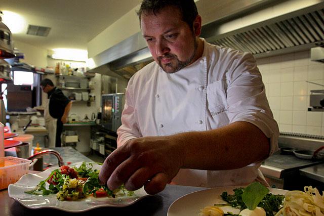 Plusieurs fois étoilé, Hervé Sauton est une valeur sure de la gastronomie régionale... Photo © Jean-Paul Epinette - icimedia@free.fr