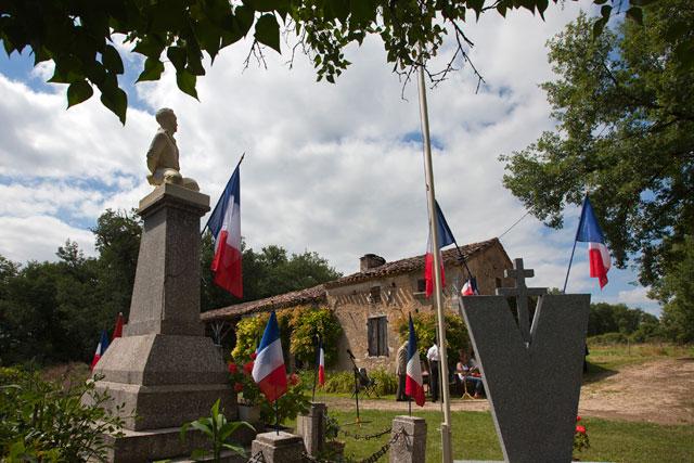La ferme du Bouscatel est désormais un haut lieu de la mémoire de la R&ésistance de la région|Photo © Jean-Paul Epinette - icimedia@free.fr