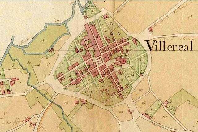 Le premier cadastre de Villereal, il y a 200 ans. |Archive © Jean-Paul Epinette - icimedia@free.fr