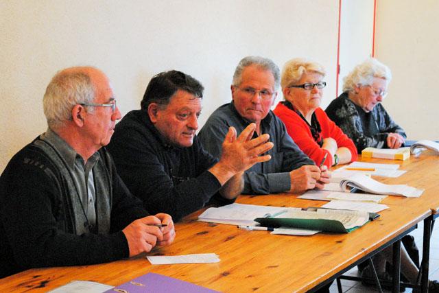 Guy Soulage a rencontré les retraités agricoles du Villeréalais.|Photo © Pierre-Antony Epinette - icimedia@free.fr