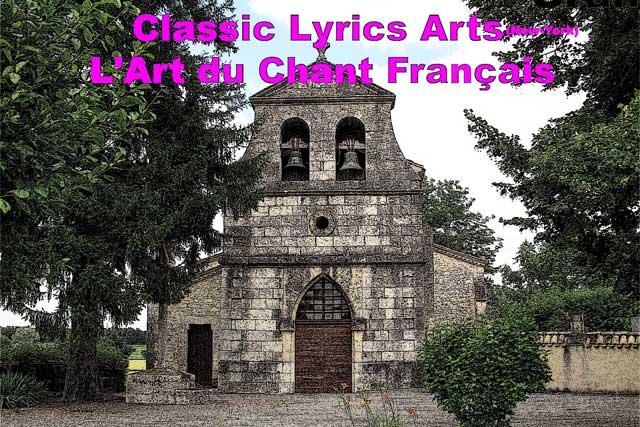 L'art du Chant Français, un concert gratuit, à Naresse.|Photo DR