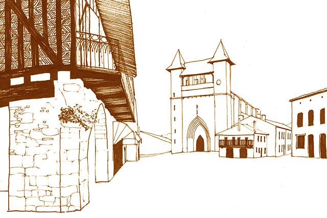 La phase 2 de l'aménagement des espaces publics est lancée © Document cabinet Palimpseste
