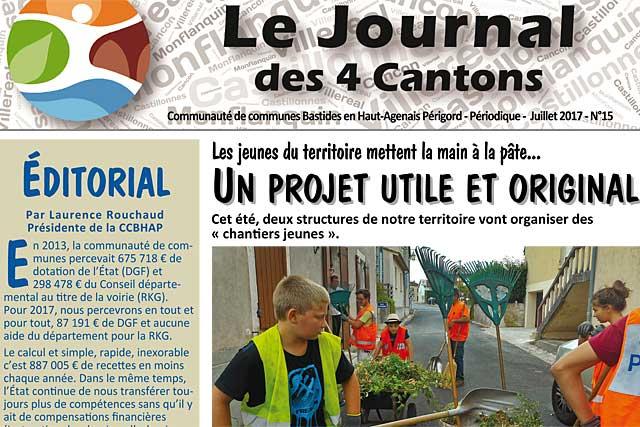 Dans l'édito du Journal des 4 cantons N°15, des choix difficiles...|Illustration © jean-Paul Epinette - icimedia@free.fr