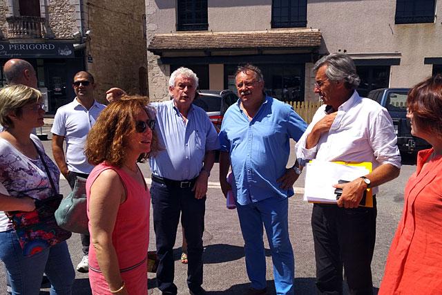 Pierre-Henri Arnstam s'entretenant avec Jacques Bilirit et Didier Benedetti (de g à d).|Photo © Pierre-Antony Epinette - icimedia@free.fr