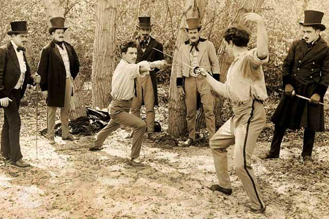 Le duel Besse-De Cardenal avait défrayé la chronique villeréalaise !...|Photo DR