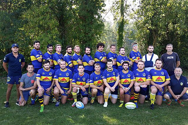 L'US Villeral Rugby séniors - Équipe 1 - 2017-2018|Photo © jean-Paul Epinette - icimedia@free.fr
