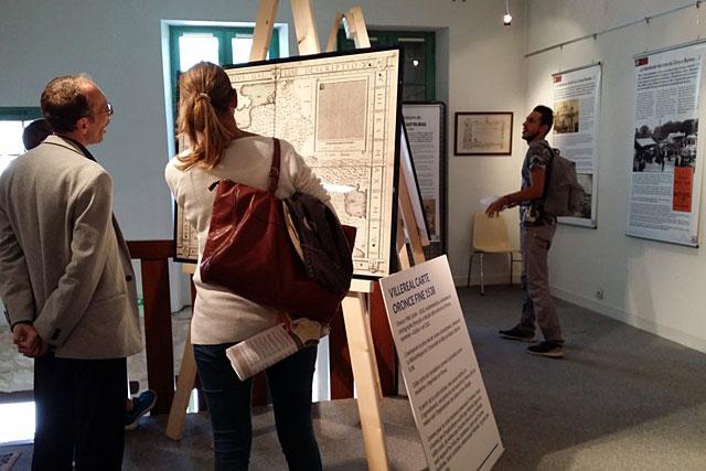 L'exposition sur les 750 ans de la bastide est ouverte jusqu'au 31 octobre...|Photo © jean-Paul Epinette - icimedia@free.fr