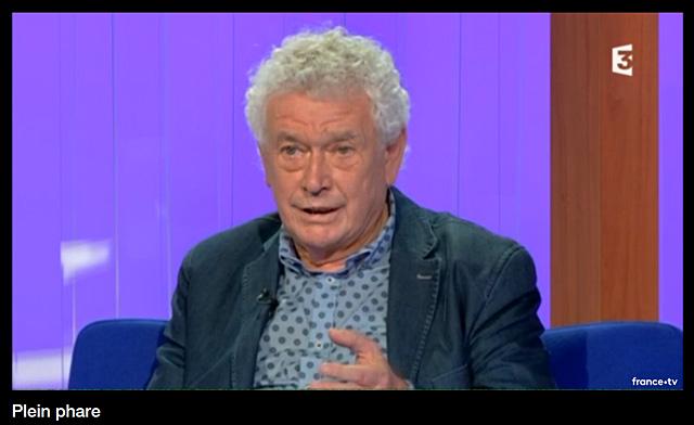 Pierre-Henri Arnstam dans Plein Phare, sur F3 Aquitaine.|Capture écran F3