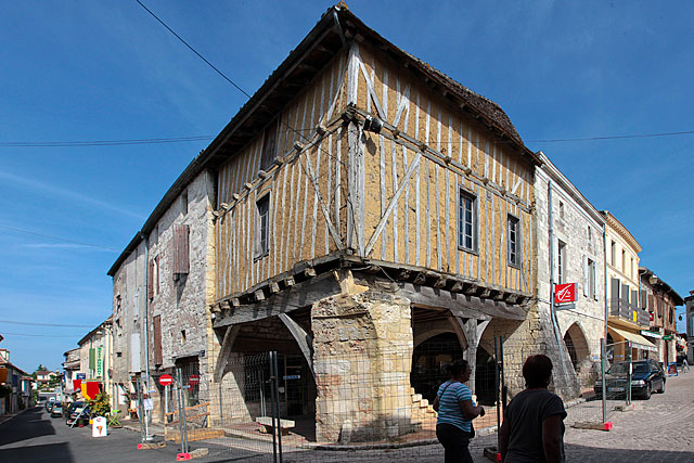 L'immeuble Bouché va pouvoir bénéficier du Plan façades...|Photo © jean-Paul Epinette - icimedia@free.fr