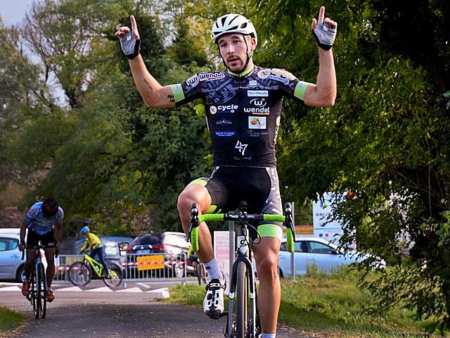 Audric Pasquet, champion d'Aquitaine de Cyclo-cross 2015 et 2017...|Photo DR