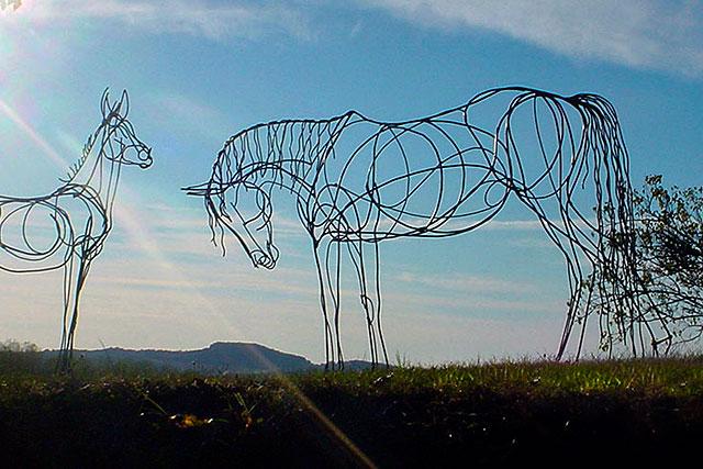 Le Cheval : le grand projet de Campagn'Art pour 2018-2019.|Photo DR