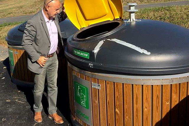 La mise en place des conteneurs semi-enterrés va débuter dans les prochaines semaines...|Photo DR
