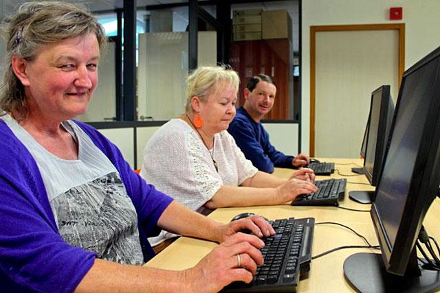 Coup de pouce MSA : se familiariser avec l'internet permet de sortir de l'isolement.|Photo © Journal de Vitré