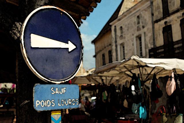 Certaines rues changent de sens de circulation...|Photo © jean-Paul Epinette - icimedia@free.fr