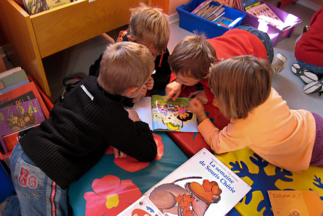 Accueil des écoles, portage, animations... la bibliothèque Roger Bissière est un maillon important du réseau...|Photo © jean-Paul Epinette - icimedia@free.fr