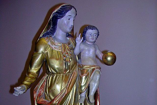 Statue classée, la Vierge à l'Enfant sera restaurée...|Photo © jean-Paul Epinette - icimedia@free.fr