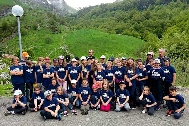 Les élèves de CE2, CM1 et CM2 ont découvert la montagne...|Photo DR