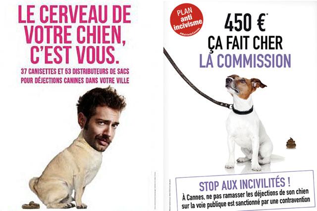 A Villeréal comme dans de très nombreuses villes de France, les crottes de chiens posent un réel problème...|Illustration DR