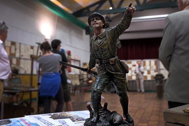 L'exposition du Centenaire de la Guerre 1914-1918 : une réalisation formidable.|Photo © jean-Paul Epinette - icimedia@free.fr