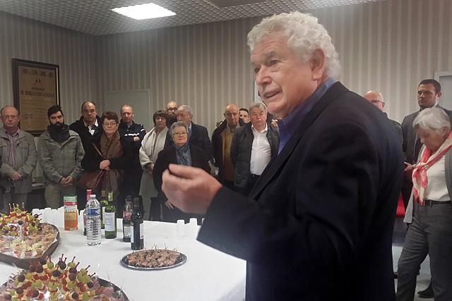 Pierre-Henri Arnstam lors de la cérémonie des voeux 2018...|Archives © Jean-Paul Epinette - icimedia@free.fr