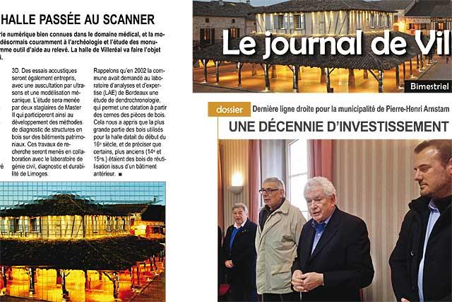Pierre-Henri Arnstam passe le témoin : 12 années d'investissement aux services des Villeréalais.es   |Photo © Jean-Paul Epinette - icimedia@free.fr