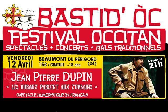 Sept rendez-vous pour le Festival BastidOC 2019...|Photo DR