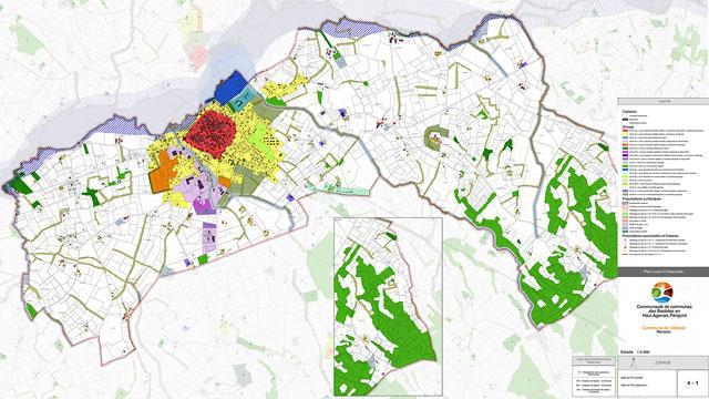 Le PLUi 2019 de la commune de Villeréal...|Communauté des communes CCBHAP