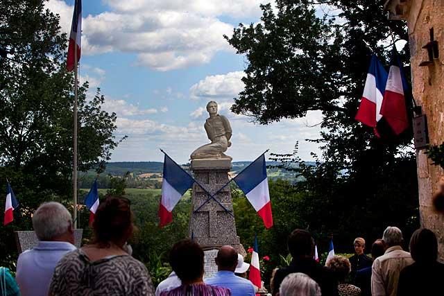 Tourliac, 14 juillet 1944, la tragédie...|Photo © Jean-Paul Epinette - icimedia@free.fr