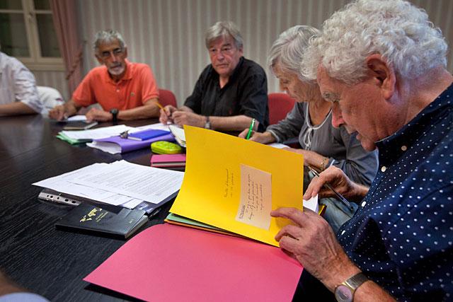 Réunion estivale pour le conseil municipal de Villeréal...|Archives © Jean-Paul Epinette - icimedia@free.fr