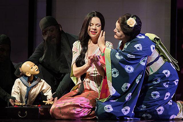 Madame Butterly avec la soprano chinoise Hui He en direct du Met Opera...|Photo DR