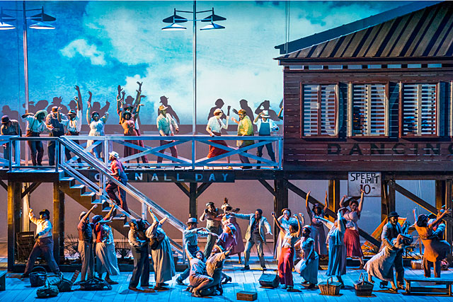 Porgy & Bess, un chef d'oeuvre planétaire, en direct de New York|Photo DR - Met Opera
