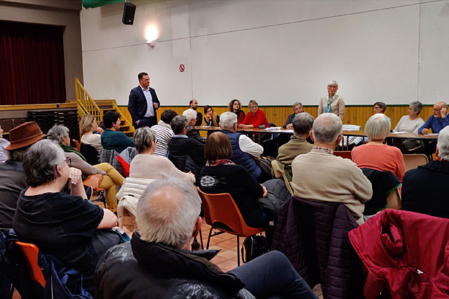 Une bonne cinquantaine de Villeréalais était au rendez-vous...|Photo © Jean-Paul Epinette.