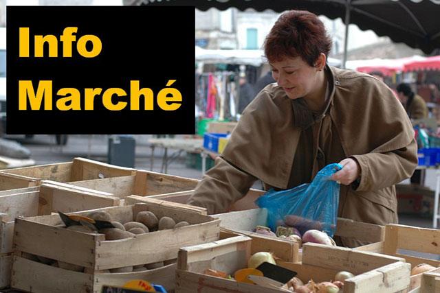La tenue du marché est désormais soumise au strict contrôle de la préfecture...   Archive © Jean‐Paul Epinette
