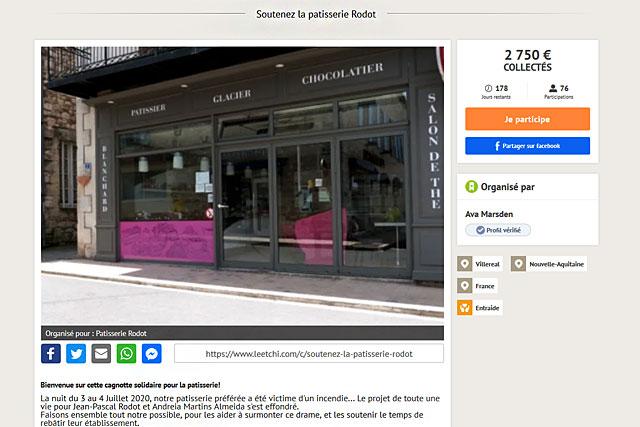 Une cagnotte a été lancée sur internet pour venir en aide aux couple de jeunes pâtissiers villeréalais...|Illustration Jean-Paul Epinette
