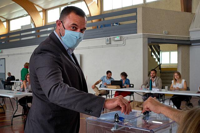 Troisième vice-président, le maire de Villeréal sera chargé des dossiers de l'Environnement...|Photo © Jean-Paul Epinette.