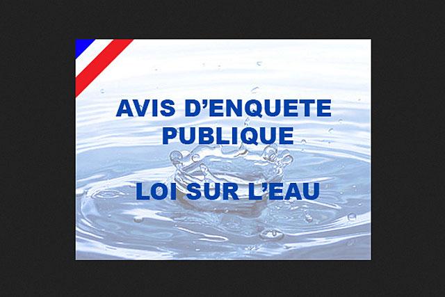 L'enquête publique concernant le bassin du Dropt sera close vendredi à 16h...4ENQUËTE PUBLIQUE|(Photo DR)