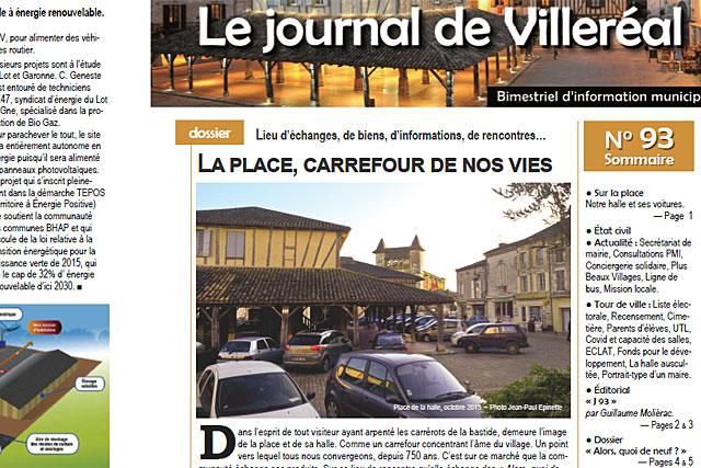 Le journal municipal est désormais complété par une application sur smartphone : Citykomi... Illustration © Jean-Paul Epinette