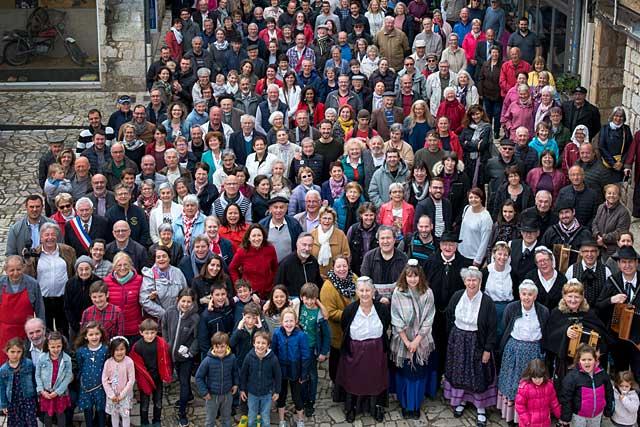 Depuis 20 ans, la population de la commune est en constante augmentation...|Photo © Didier Veysset - Mémoire de Villeréal