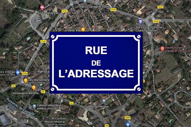 Un numéro et une dénomination officielle de la voie... nos adresses seront normalisées...|Illustration Jean-Paul Epinette
