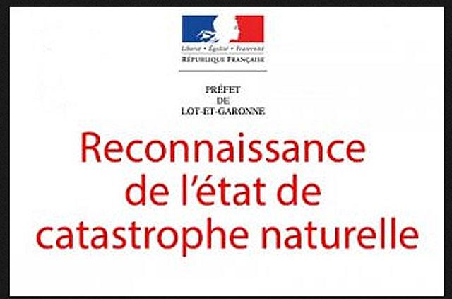 L'état de catastrophe naturelle a été déclaré pour les communes de Villeréal et Saint-Martin... Illustration DR.