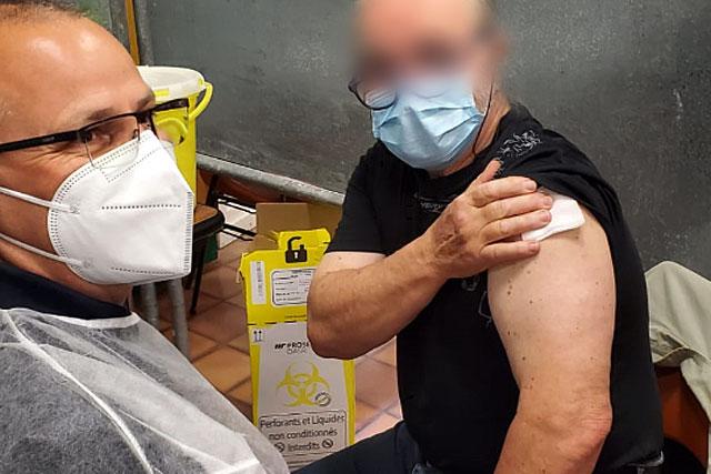 Samedi 10 avril, 360 habitants de Villeréal et même des communes voisines ont reçu leur première injection de vaccin contre le Covid-19...   Photo © Mairie de Villeréal
