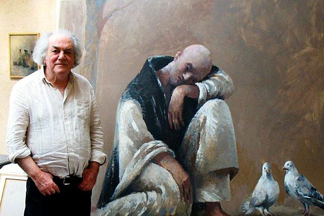 Les toiles du peintre Gilles Sacksick sont encore visibles jusqu'à jeudi 29 juillet 2021...|| Photo DR