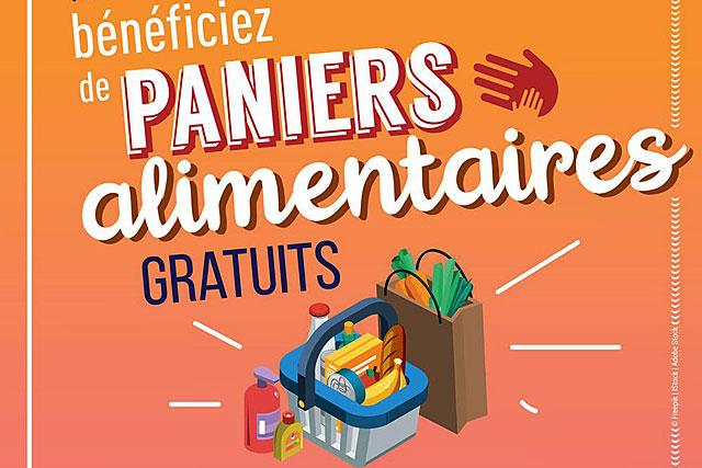 Dans le cadre des actions de solidarité liées au COVID-19, la Région distribue des paniers alimentaires pour les jeunes de 15 à 30 ans en difficulté.|– (Illustration DR)