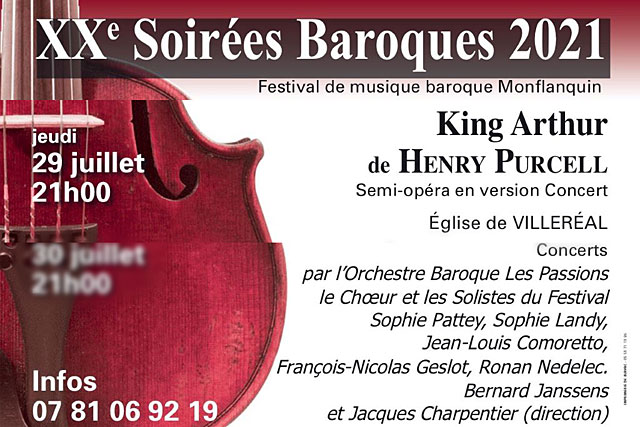 Cet avant-dernier concert des Soirées Baroques 2021 sera gratuit pour les moins de 20 ans...|Illustration (DR.)