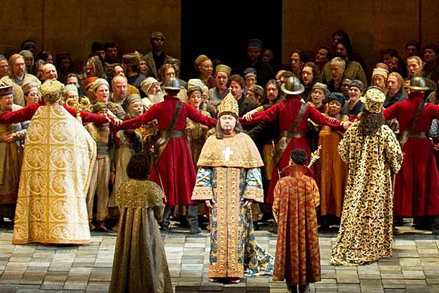 La saison du MetOp ouvrira le samedi 9 octobre avec Boris Godounov...|| Photo © Metropolitan Opera