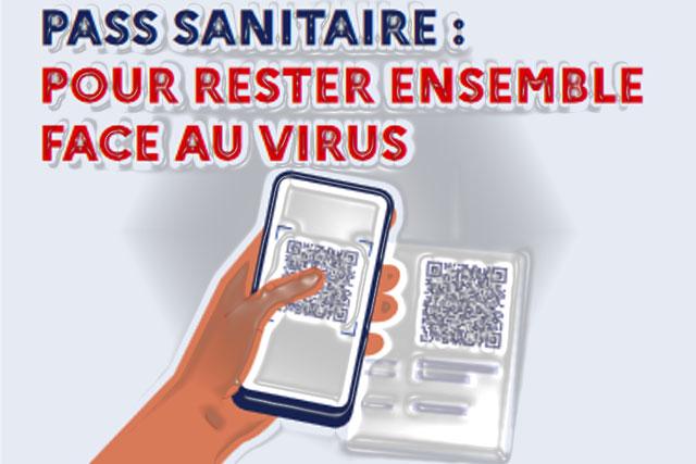 Depuis le lundi 9 août le Pass sanitaire est exigé pour les personnes majeures...|Illustration Jean-Paul Epinette