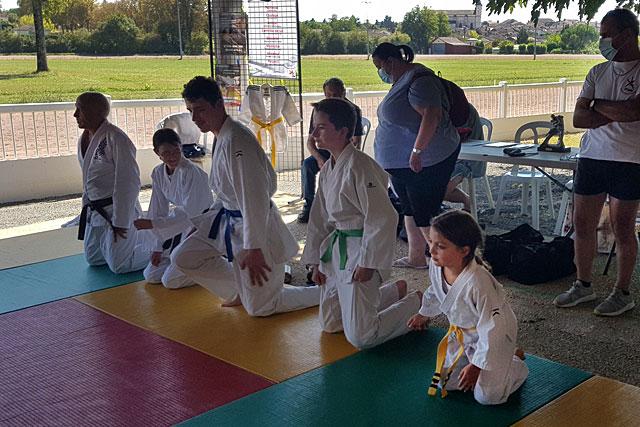 Comme le Judo-Club Villeréalais, beaucoup d'associations ont fait leur rentrée à l'occasion du Forum...|| Photo © Pierre-Antony Epinette